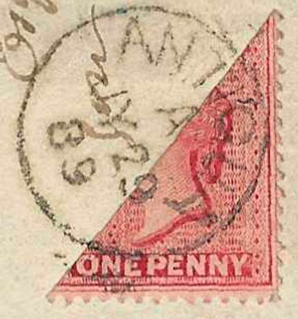 Antigua_1863_QV_1p_Bisect_Forgery3