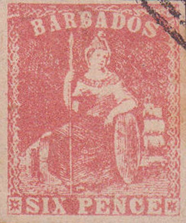 Barbados_1858_Britannia_6p_Forgery