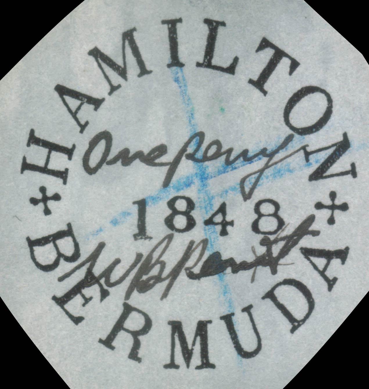 Bermuda_1848_Hamilton_Forgery2