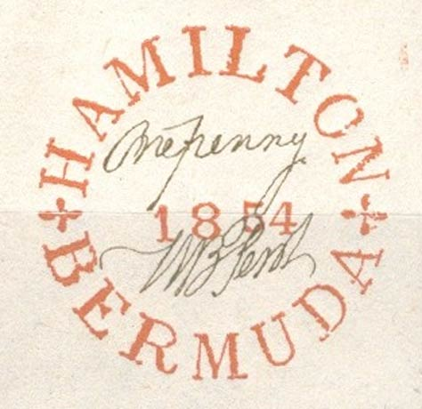Bermuda_1854_Hamilton_Winter_Forgery