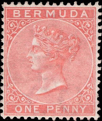 Bermuda_1865_1d_Genuine