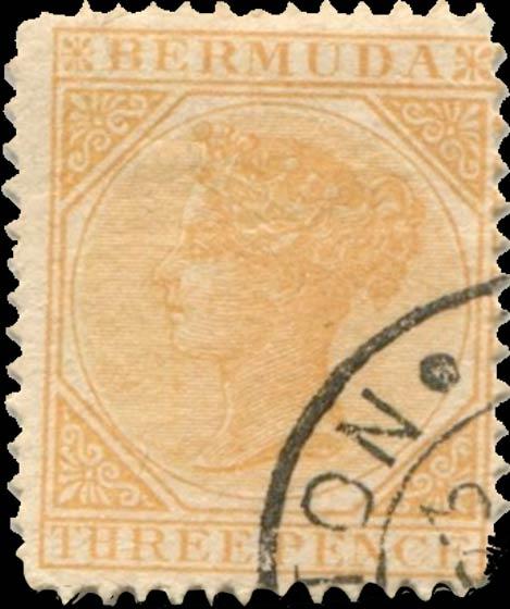 Bermuda_1873_Queen_Victoria_3p_Forgery