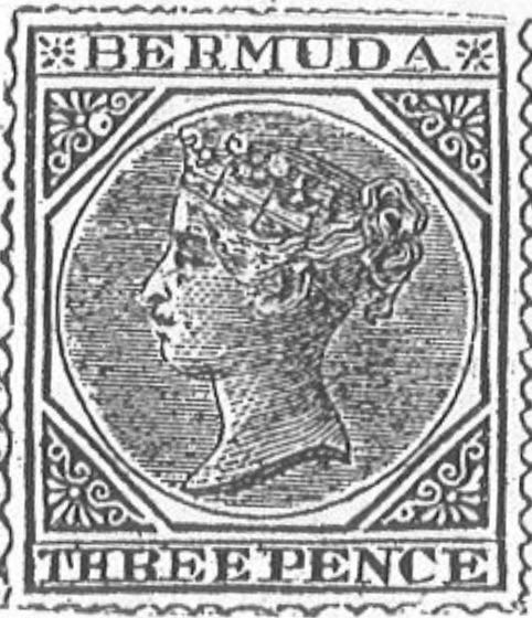 Bermuda_1873_Queen_Victoria_3p_Torres_illustration
