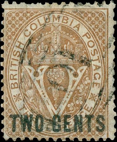 British_Columbia_1868_2c_Genuine