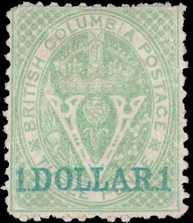 British_Columbia_1869_1dollar_Genuine