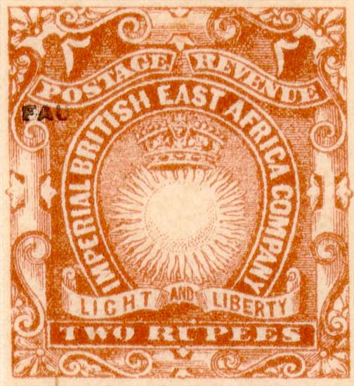 British_East_Africa_1895_2r_Fournier_Forgery