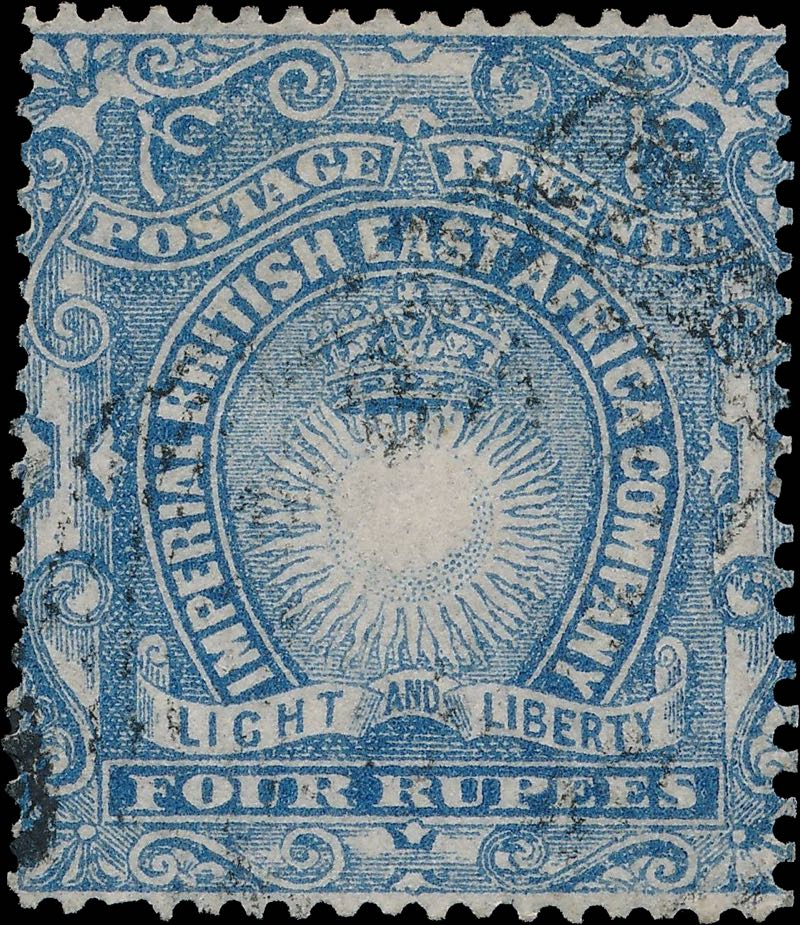 British_East_Africa_1895_4r_Forgery