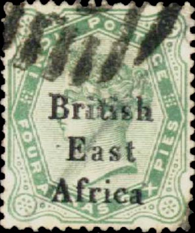 British_East_Africa_1896_India_4a6p_Forgery