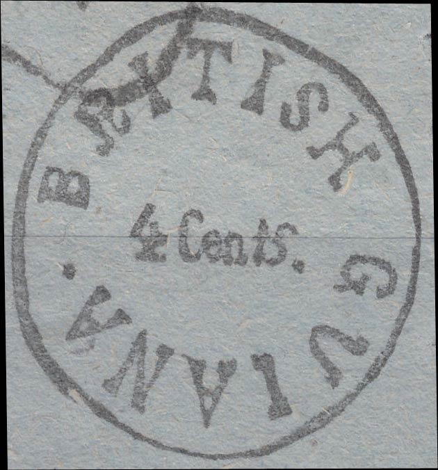 British_Guiana_1850_4c_Forgery2