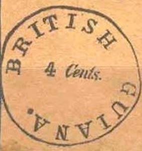 British_Guiana_1850_4c_Forgery7