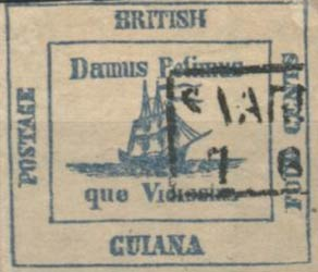 British_Guiana_1856_4c_Forgery10