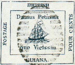 British_Guiana_1856_4c_Forgery3