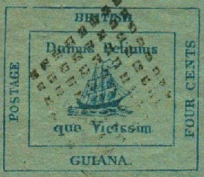 British_Guiana_1856_4c_Forgery6