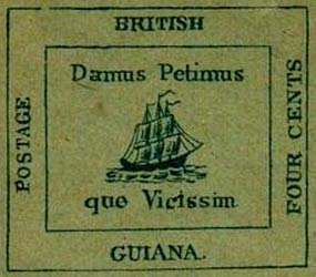 British_Guiana_1856_4c_Forgery7
