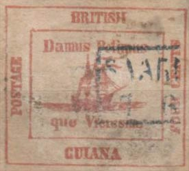 British_Guiana_1856_4c_Forgery9