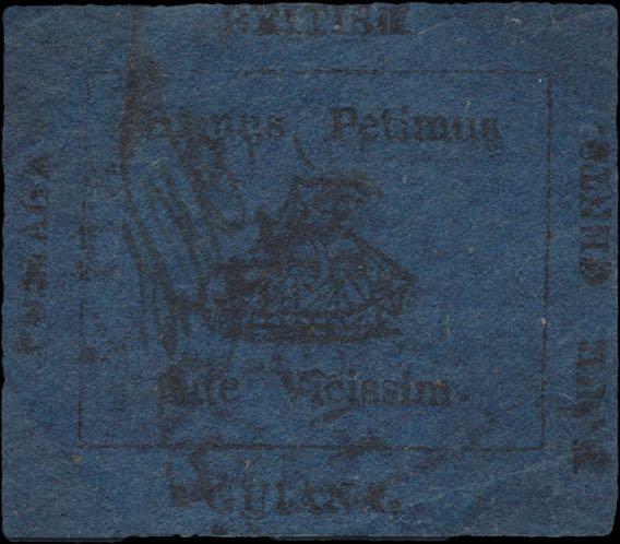 British_Guiana_1856_4c_blue_Genuine