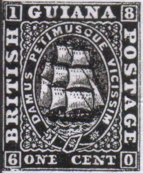 British_Guiana_1860_1c_Forgery4