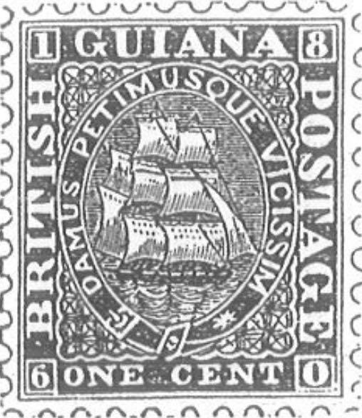 British_Guiana_1860_1c_Torres_illustration