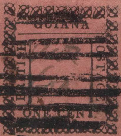 British_Guiana_1862_1cents_Forgery