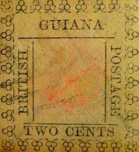 British_Guiana_1862_2cents_Forgery