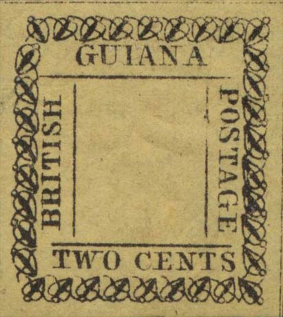 British_Guiana_1862_2cents_Genuine