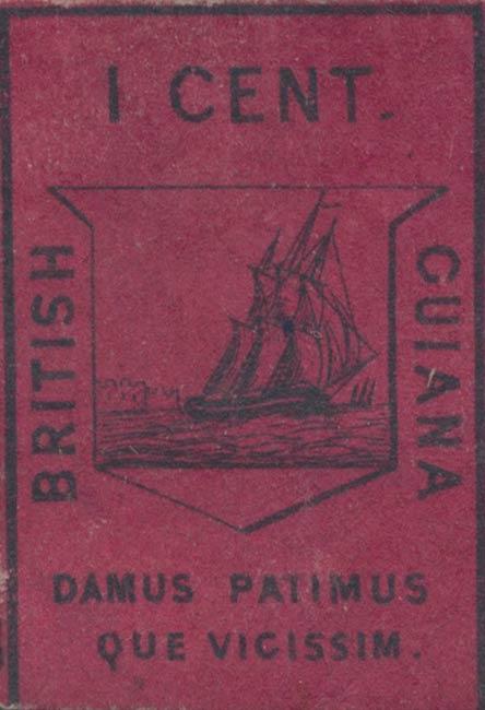 British_Guiana_1952_1c_Genuine