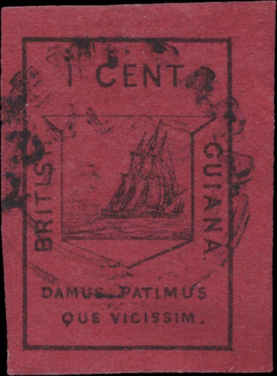 British_Guiana_1952_1c_Genuine2