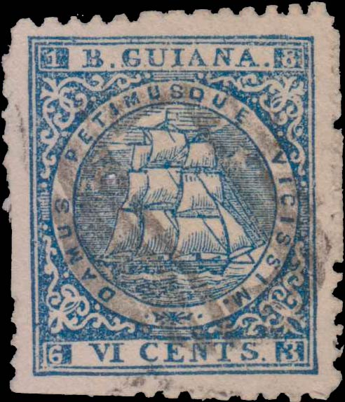 British_Guiana_6c_Sandbach_Fantasy