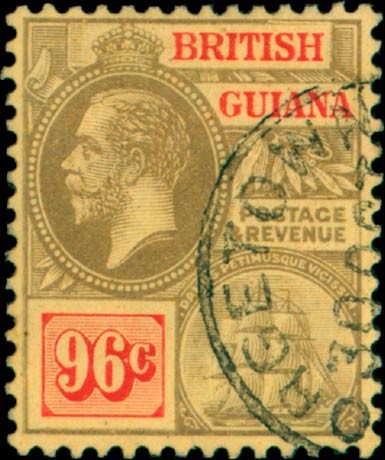 British_Guiana_96cents_Madame_Joseph_Forgery