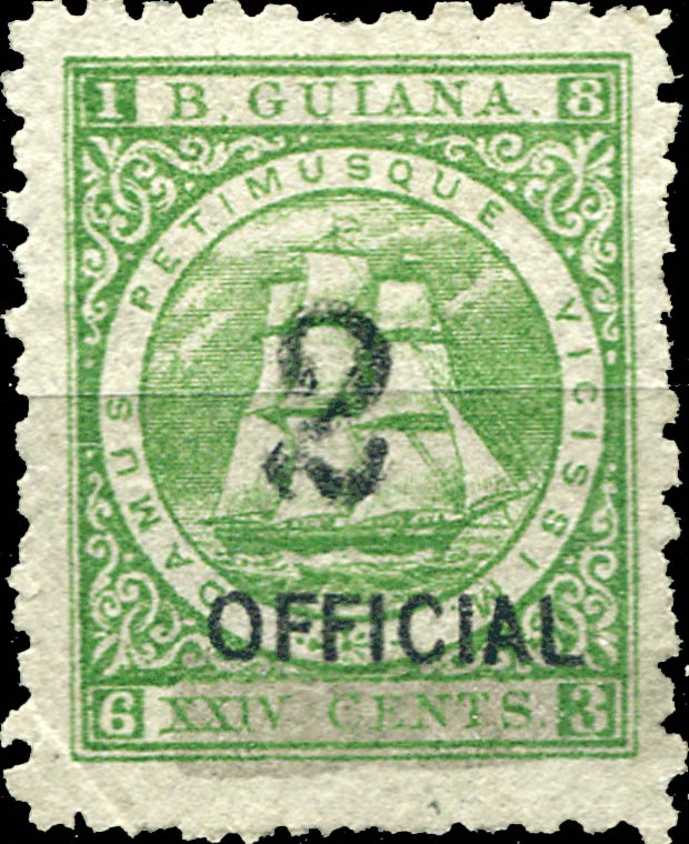 British_Guiana_Sandbach_16c-official_Forgery