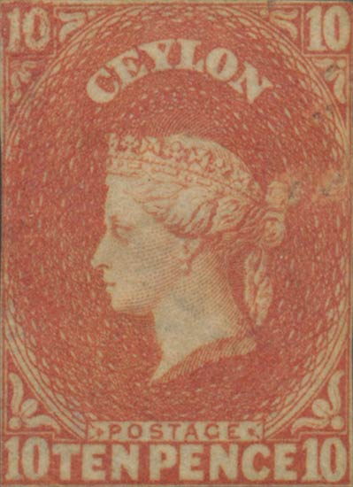 Ceylon_1857_10d_Genuine