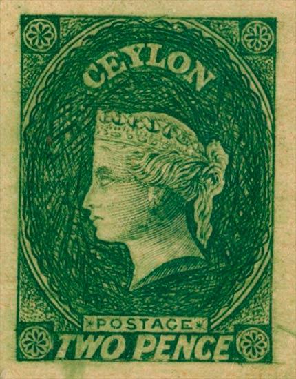 Ceylon_1857_2d_Oneglia_Forgery