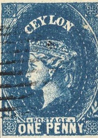 Ceylon_1857_QV_1p_Forgery2