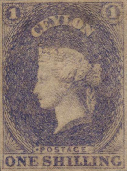 Ceylon_1857_QV_1s_Genuine
