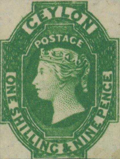 Ceylon_1859_QV_1s9p_Genuine
