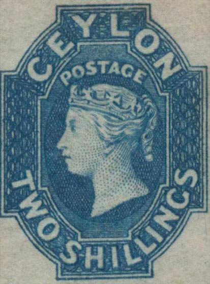 Ceylon_1859_QV_2s_Genuine