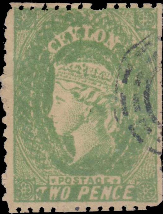 Ceylon_1861_QV_2p_Forgery