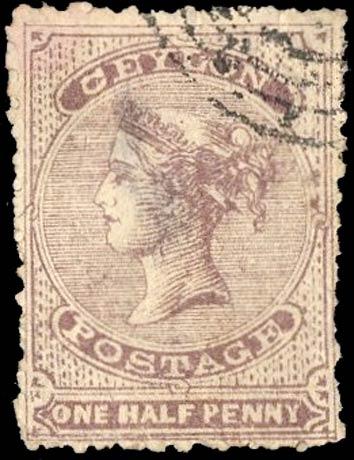 Ceylon_1862_QV_halfd_Forgery