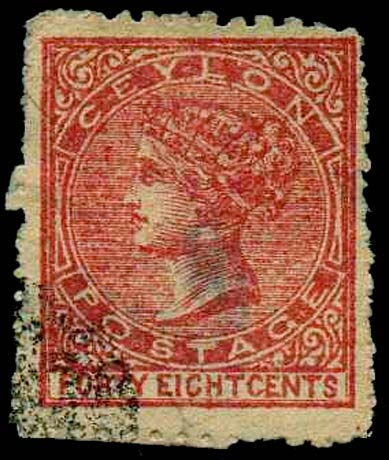 Ceylon_1872_48c_Forgery