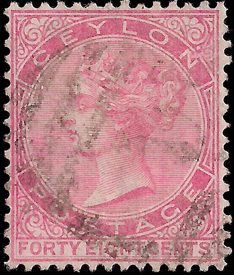 Ceylon_1872_48c_Genuine