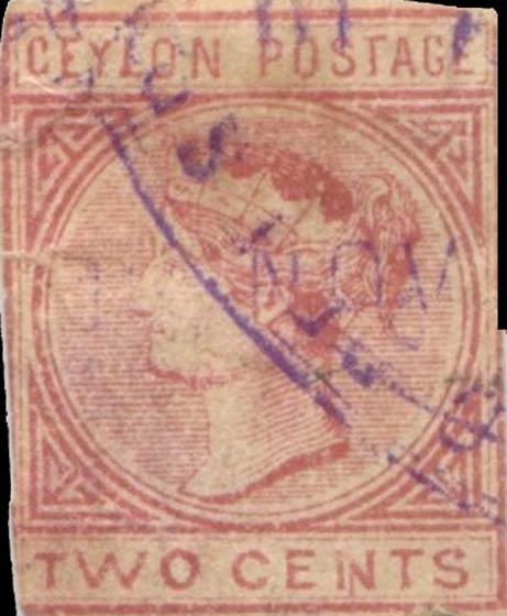 Ceylon_1883_Queen_Victoria_2c_Forgery