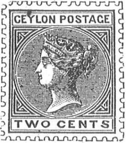 Ceylon_1883_Queen_Victoria_2c_Torres_Illustration