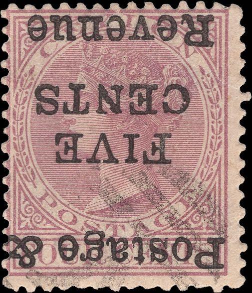Ceylon_1885_5c-on-4c_Inverted_Fogery
