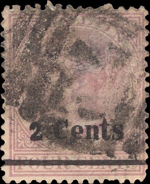 Ceylon_1888_QV_2c-on-4c-Forgery