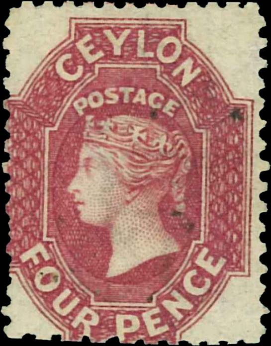 Ceylon_QV_4pence_reperforated