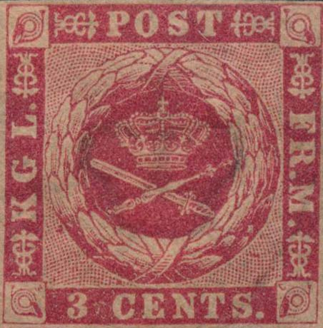 Danish_West_Indies_1856_3c_Genuine