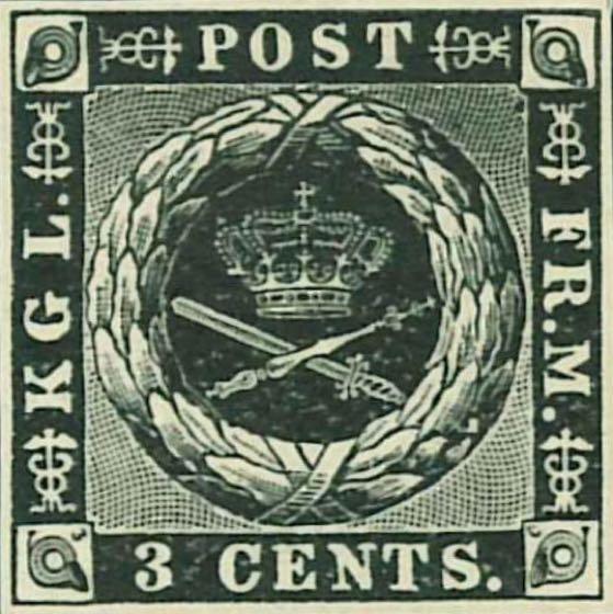 Danish_West_Indies_1856_3c_black_reprint_Genuine