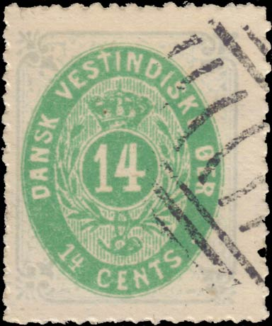 Danish_West_Indies_Bicoloed_14cents_Forgery