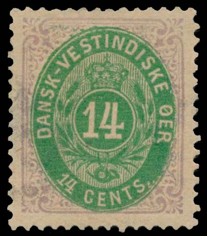 Danish_West_Indies_Bicoloed_14cents_Genuine