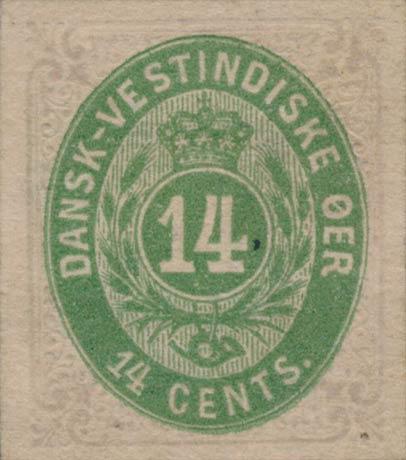 Danish_West_Indies_Bicoloed_14cents_Genuine_Proof